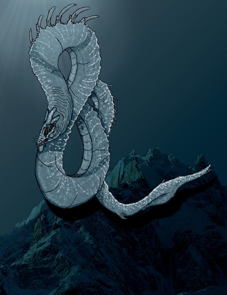 Gaurdian of the Depths by LostHellAngel