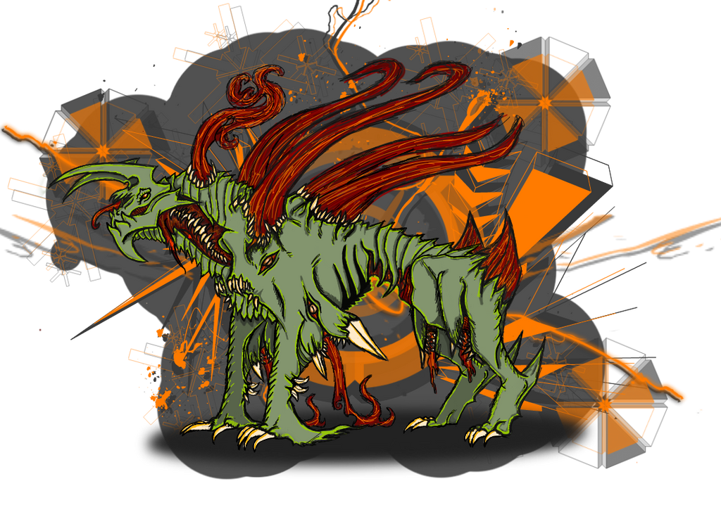 Goliath's UnDead Guardian Form by LostHellAngel