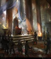 the throne by NURO-art