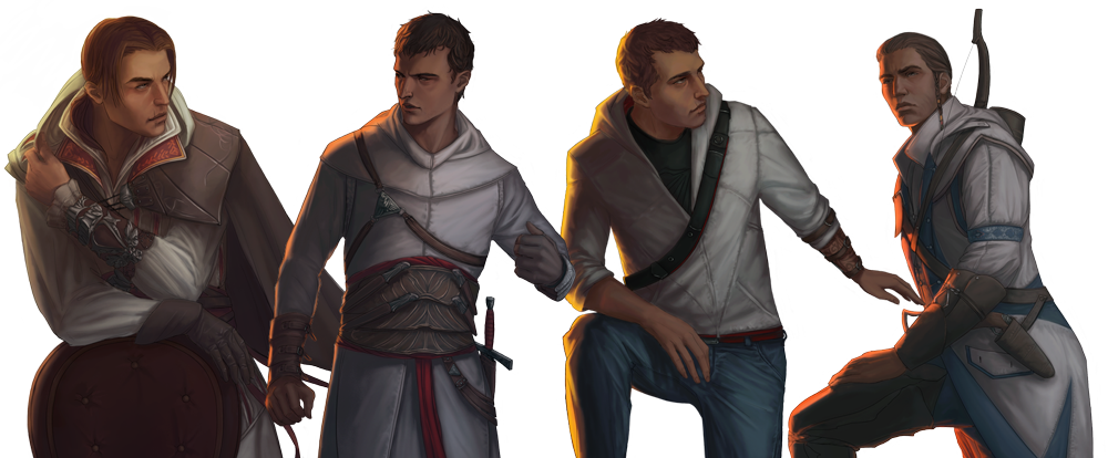 AssassinsCreed: Characters by DaedraDagon