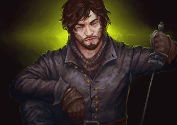 musketeers bbc: noname by DaedraDagon