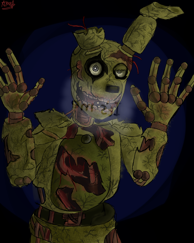 FNAF FNAF FNAF SPRINGTRAP THING By PineIce On DeviantArt