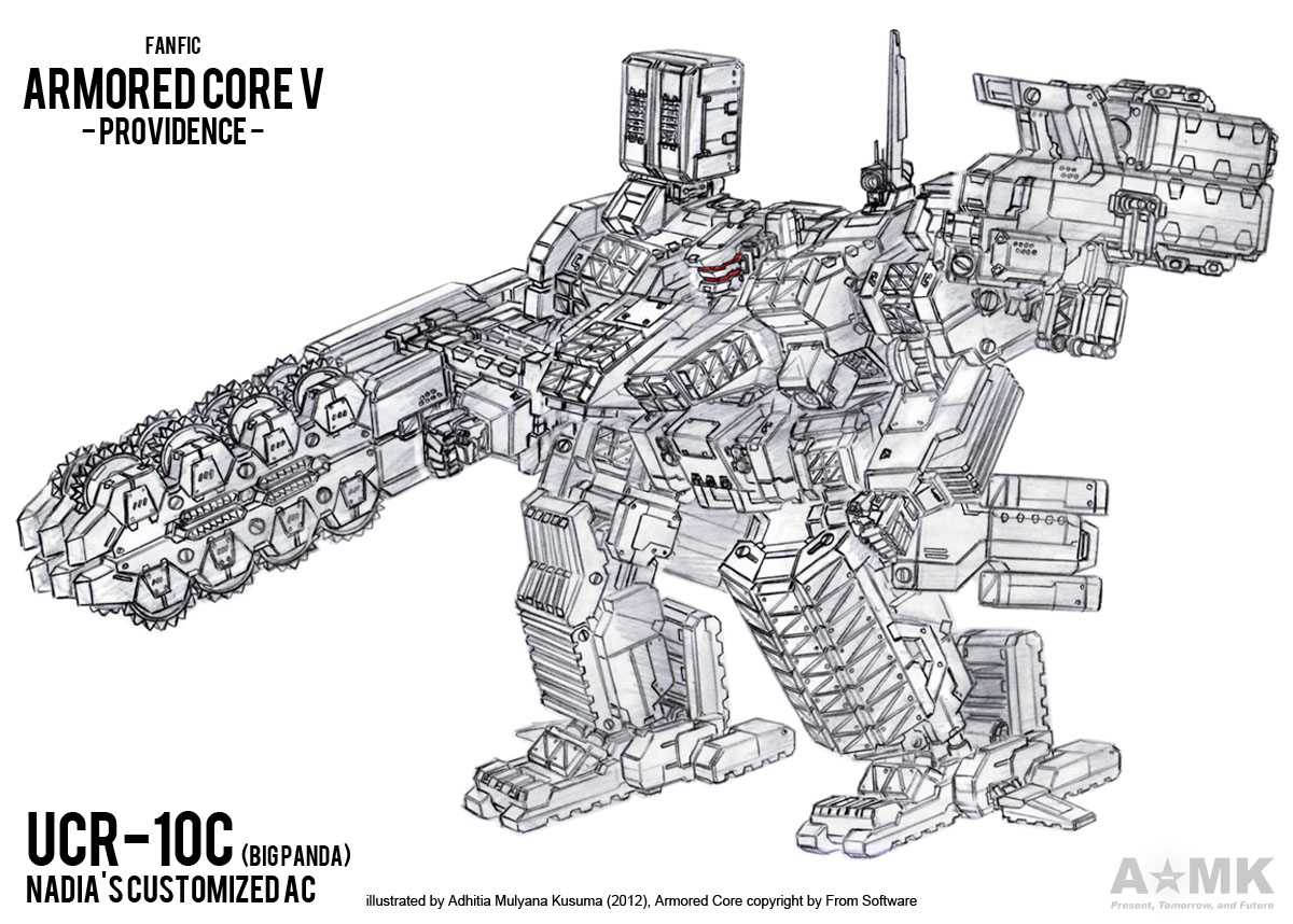 Armored Core V Providence by adhitia