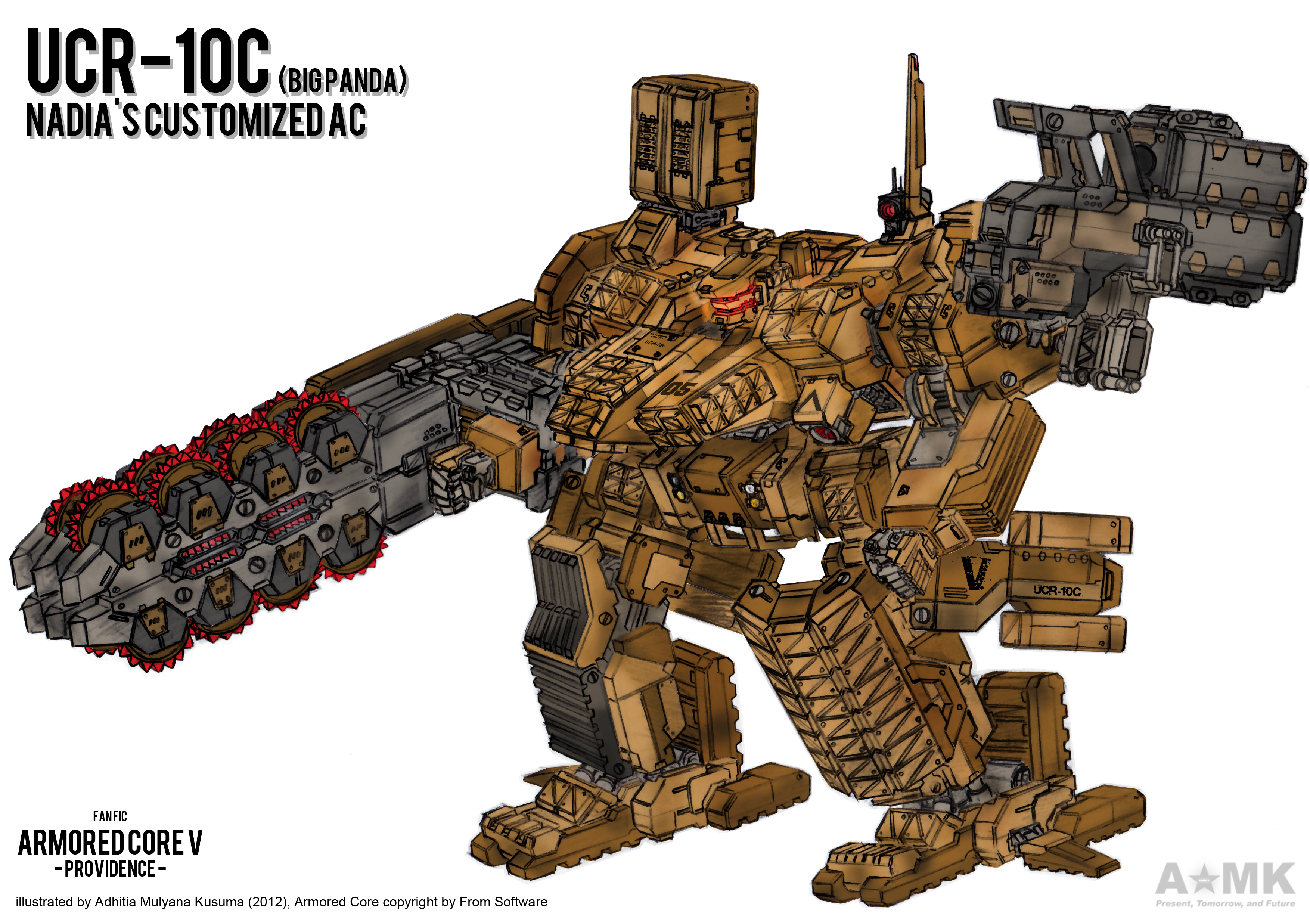 Armored Core V Providence (Fanfic) by adhitia