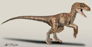 The Lost World Jurassic Park Velociraptor female