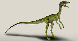 The Lost World Jurassic Park Compsognathus