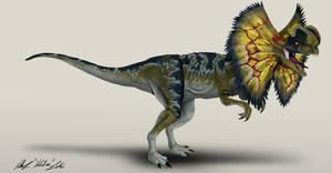 Jurassic Park Dilophosaurus