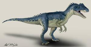 Battle of Big Rock Allosaurus