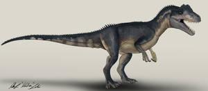 Allosaurus Roblox Jurassic Park Jurassic Park Allosaurus By Trefrex On Deviantart
