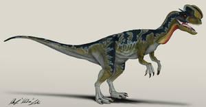 Jurassic Park Dilophosaurus (frill down)