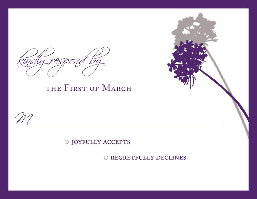 Wedding Invite RSVP Card by brittneymason on DeviantArt – Card Invite