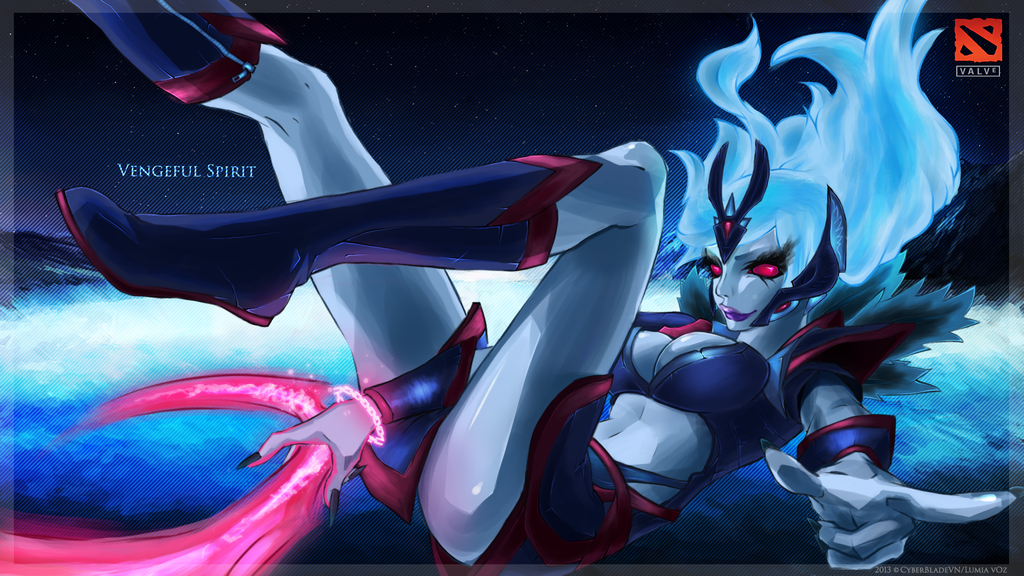 DotA 2's Vengeful Spirit by CyberBladeVN