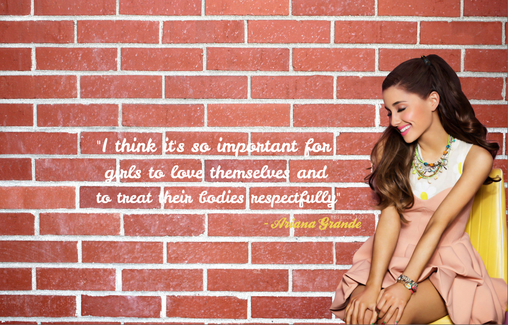 Ariana Grande - Quotes by bianca1029 on DeviantArt
