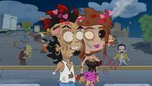Diana x Gaspar del Barrio - zombies