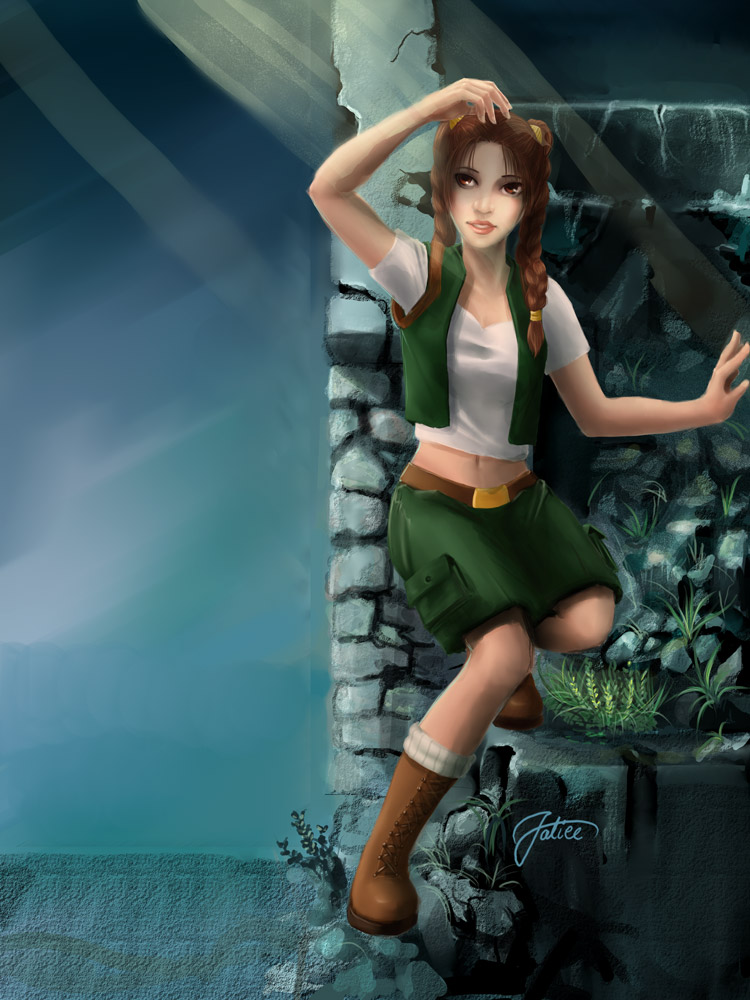 Unfinished Tomb Raider by Veldalis