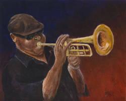 Louisiana Bluesman by mbeckett