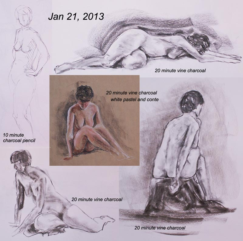2013-01-21-Life-Drawing by mbeckett