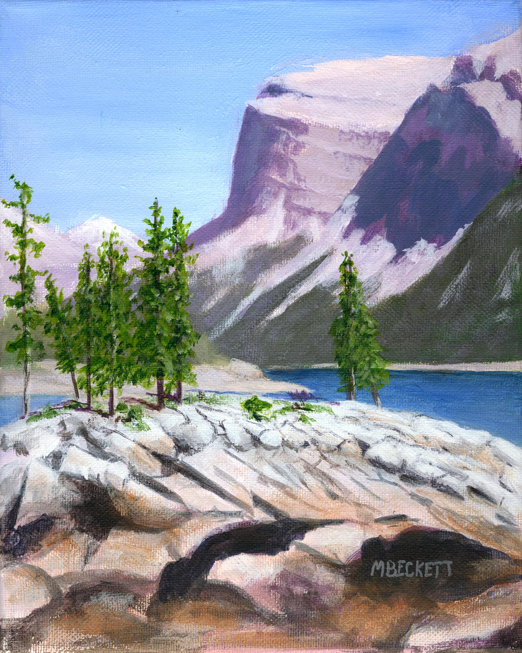 Lake Minnewanka by spudsy2
