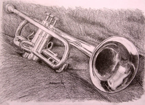 trumpet by mbeckett