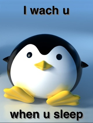 Scary Penguin by BooksBooksBook on DeviantArt