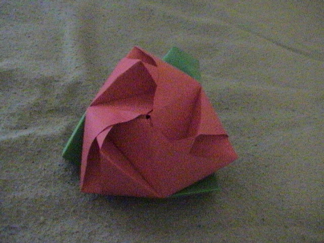 Transformable origami flower cube by thepaperme999 on deviantart transformable origami flower cube by thepaperme999 mightylinksfo