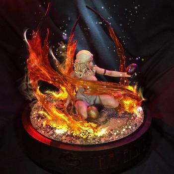 Khaleesi's Fire (Photoshop'd) by sparkvark