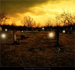 Cemetery Haunting Premade Background
