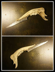 Jawbone Knife