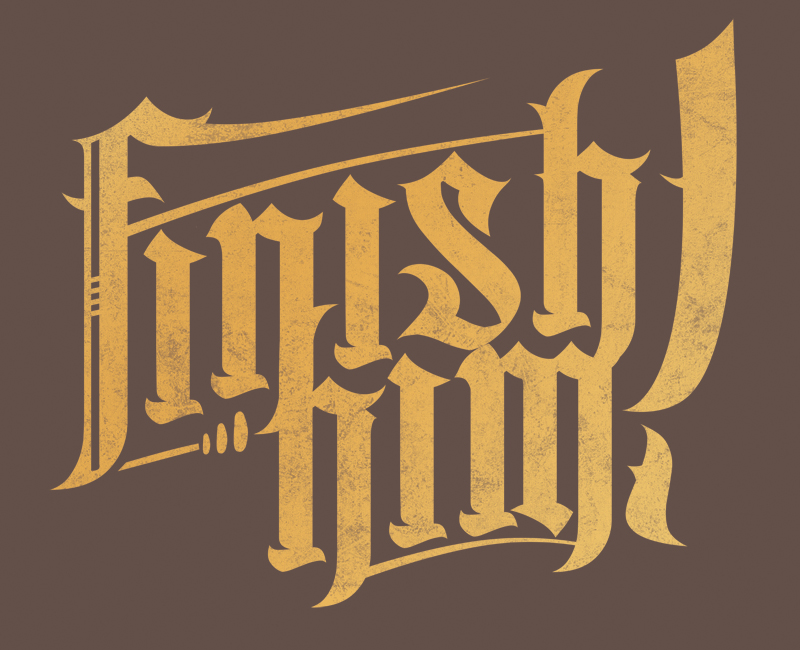 Finish Him Logo Idea 1 by come-play-dying- on DeviantArt