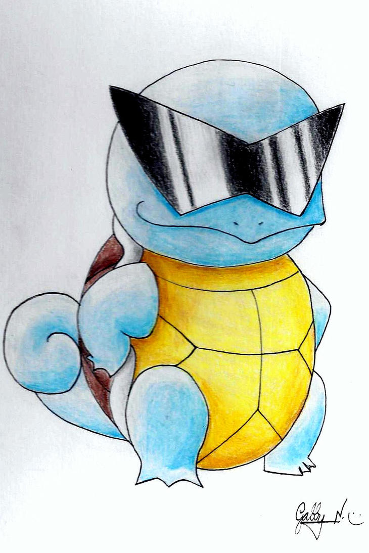 Squirtle With Glasses 85