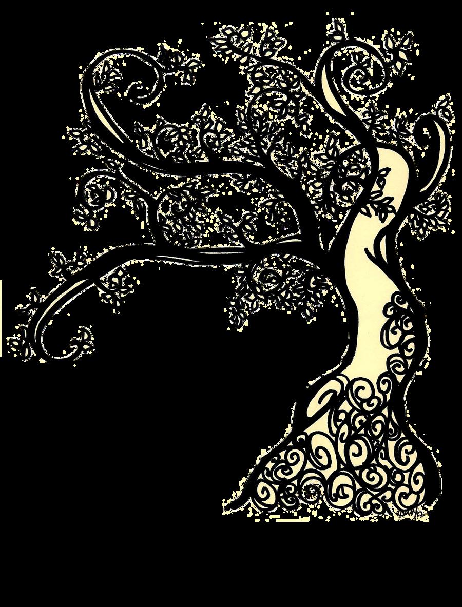 Twirly Twig Tree by locodela on DeviantArt