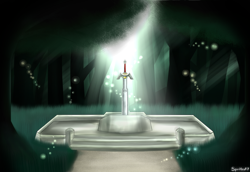 The Master Sword by Spiritleaf7