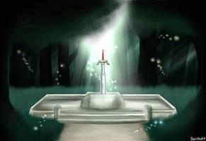 The Master Sword by Spiritleaf7