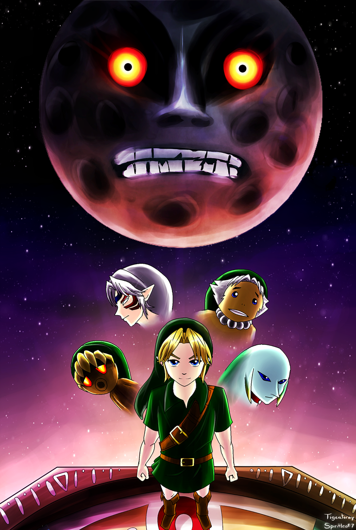 Majora's Mask (Art Collaboration) by Spiritleaf7