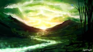 Green Skies by Spiritleaf7