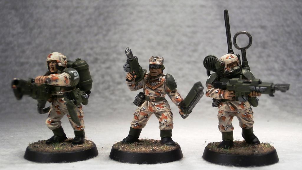 Vostroyan Scions: Cadian Infantry By Elmo9141 On DeviantArt