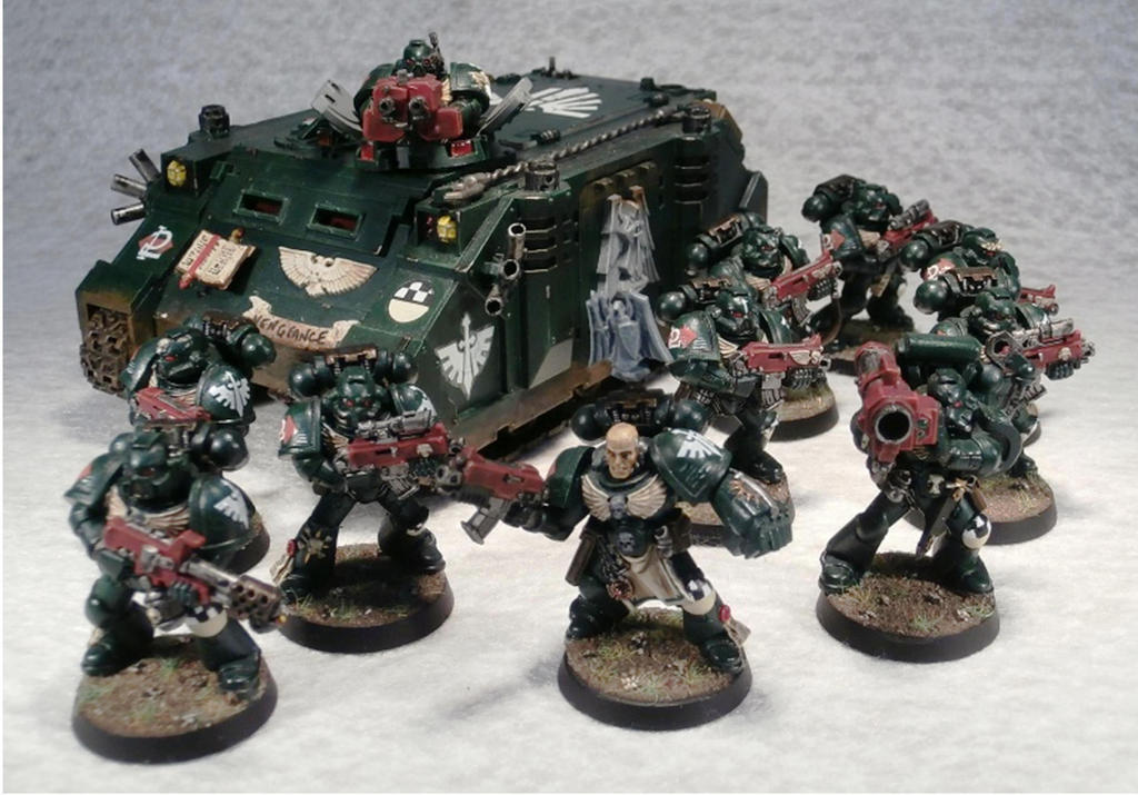 2nd Tactical Squad, 4th Company, 1st Legion by Elmo9141