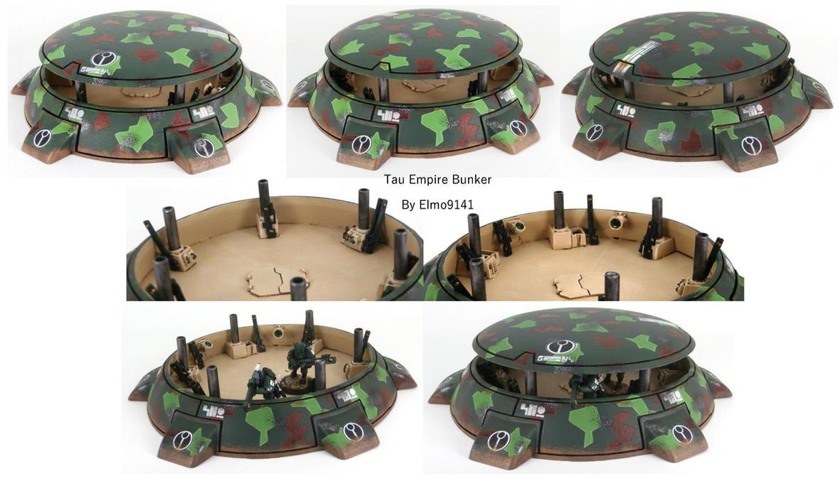 Tau Empire Bunker by Elmo9141