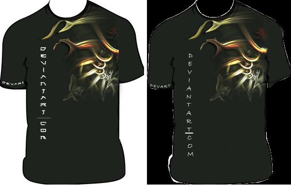 devART T-shirt -Antimony- by xero-sama