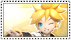 Vocaloid: Kagamine Len Stamp by Majikaru-Rin