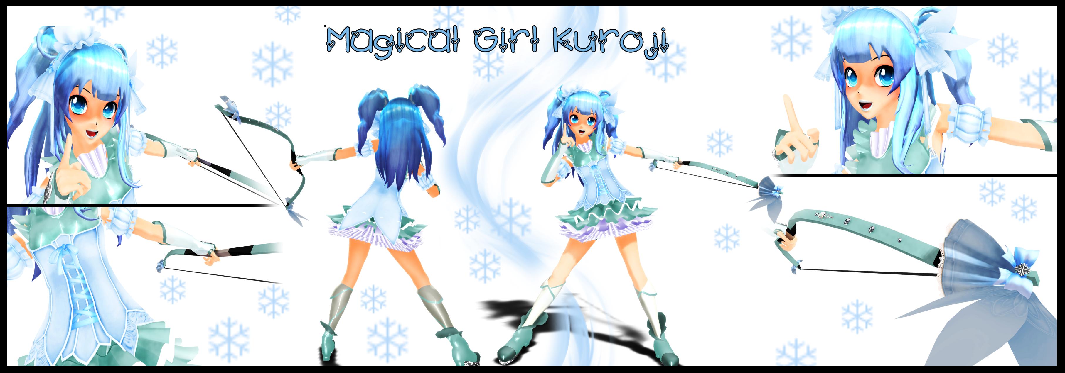 . : MOTME: Magical Girl Kuroji : . by Majikaru-Rin