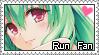 Run Fan Stamp by Majikaru-Rin