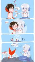 STARFISH BRA: The Awkward Aftermath by Majikaru-Rin