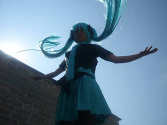 Miku Hatsune Love is War by AliceTheCrazy