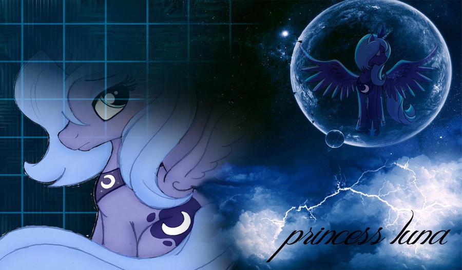 gallery for gt princess luna neon wallpaper