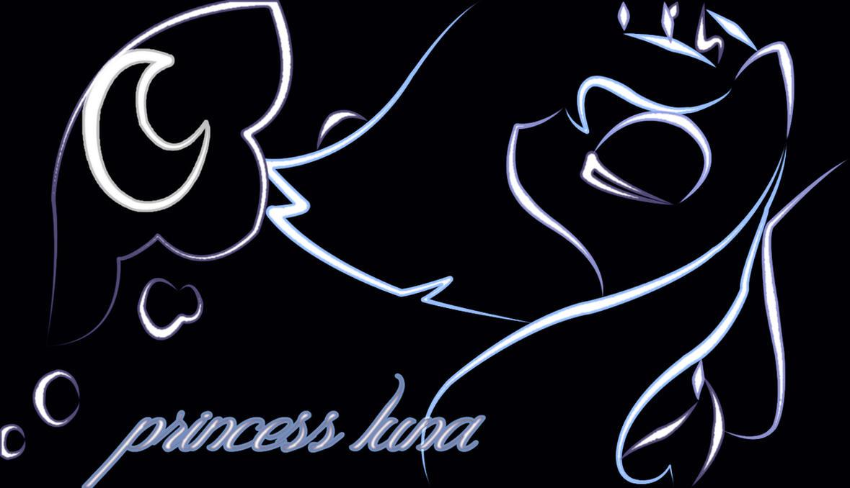 princess luna neon wallpaper by neonbronie on deviantart