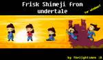 Frisk Shimeji from undertale