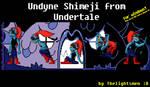 Undyne Shimeji from Undertale