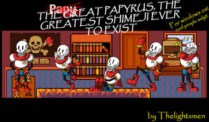 The Great Papyrus Shimeji From Undertale