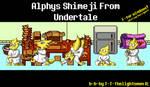 Alphys Shimeji from Undertale